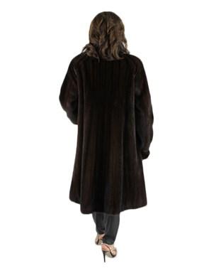 Mahogany Female Mink Coat