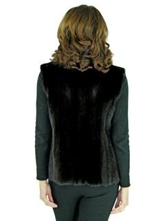 Women's Ranch Female Mink Fur Vest