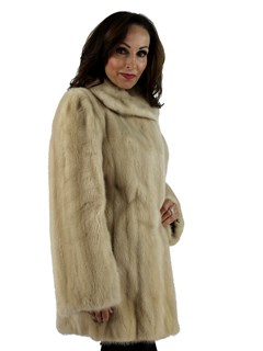 Woman's Tourmaline Female Mink Fur Stroller