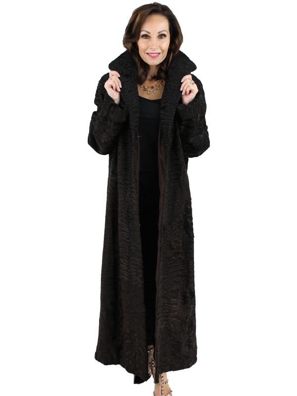 Woman's Swakara Lamb Coat