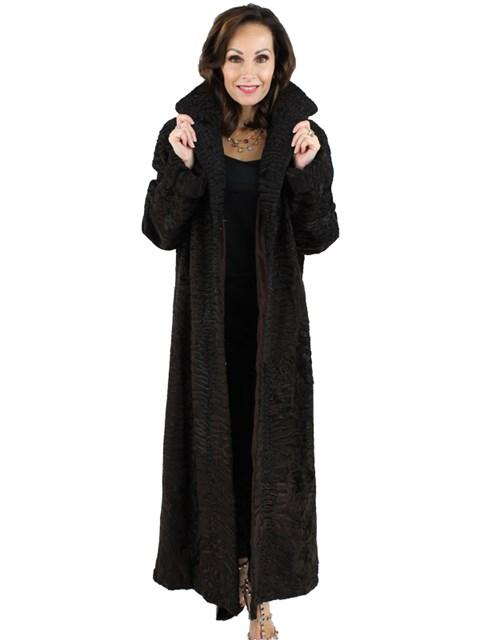 Swakara Lamb Coat