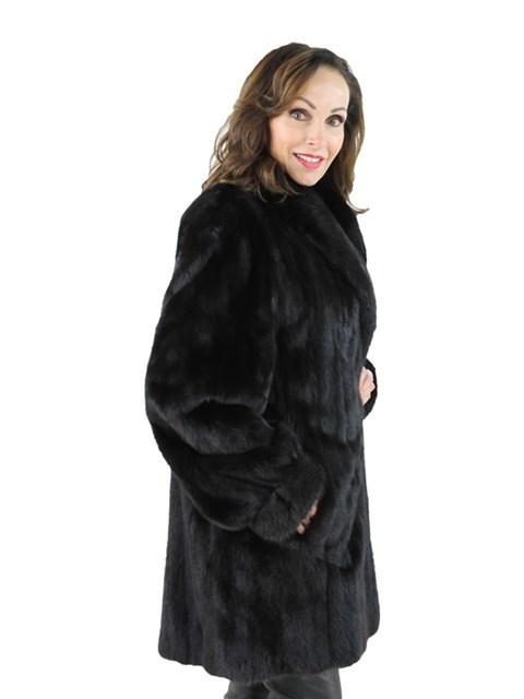 Woman's Ranch Female Mink Fur Stroller