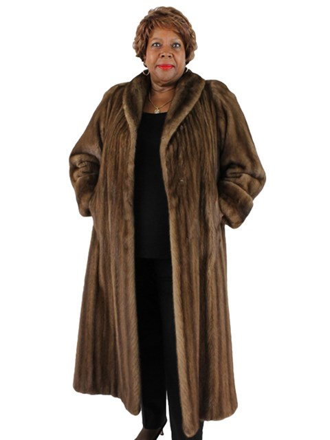 Woman's Lunaraine Mink Fur Coat
