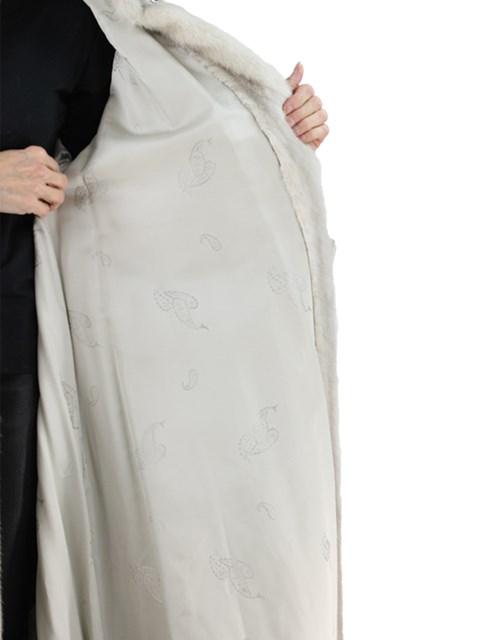 Woman's Azurene Female Mink Fur Coat