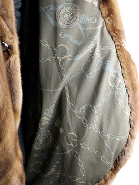 Woman's Demi Buff Mink Fur Coat