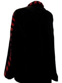 NEW Sheared Mink Jacket with Red Detail