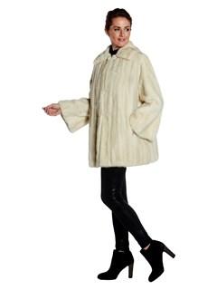 Womens Tourmaline Mink Fur Stroller