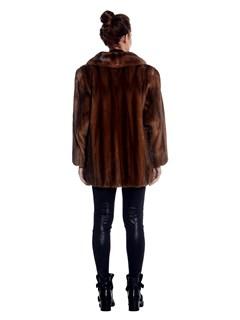 Womens Lunaraine Mink Fur Jacket