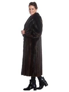Womens Beaver Fur Coat