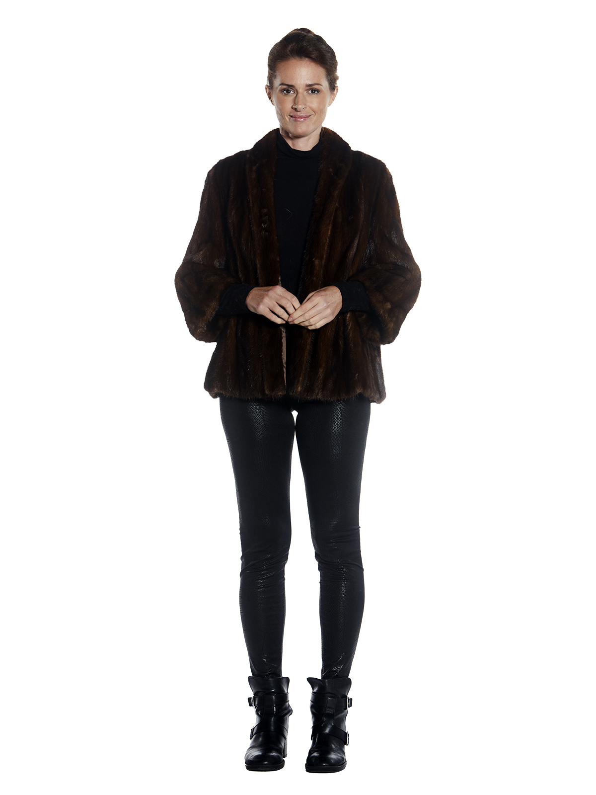Womens Mink Fur Jacket