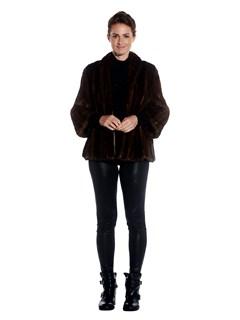 Womens Mink Fur Jacket