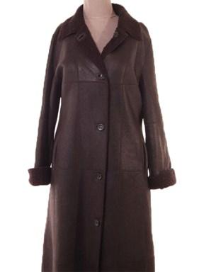 Black Christ Shearling lamb coat