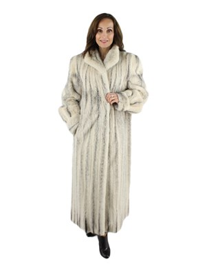 Cross Mink Coat