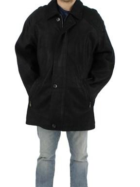 Man's Black Lamb Leather Jacket