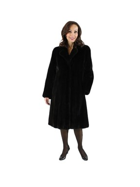 Petite Ranch Mink 7/8th Coat