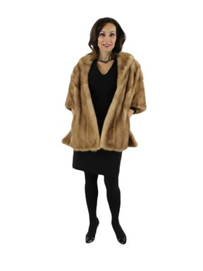 Autumn Haze Mink Fur Stole