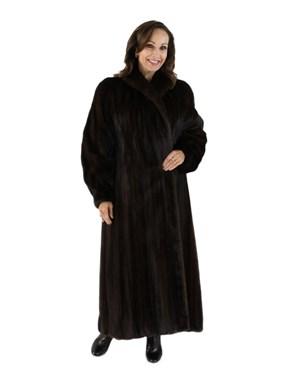 Dark Mahogany Mink Coat