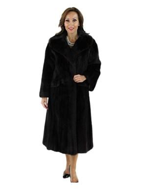 Vintage Mahogany Mink Coat