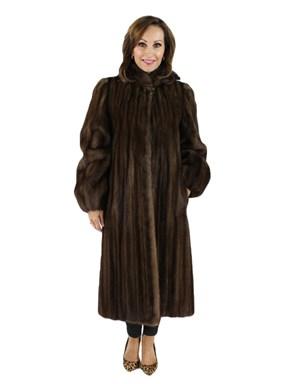 Petite Lunaraine Female Mink Coat