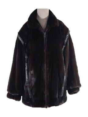 Mens Ranch Mink Jacket