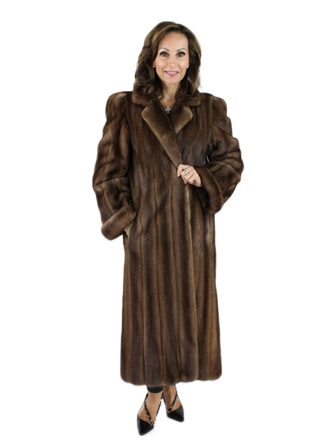 Lunaraine Mink Fur Coat Women S Large 12 Estate Furs