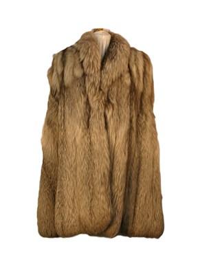 Pearl Fox Fur Cape