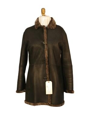 Black Shearling Lamb Jacket