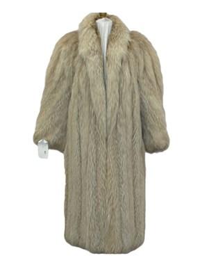 Amber Fox Fur Coat