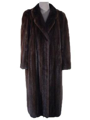 Mahogany Mink Coat