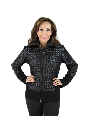 Fabric Quilted Jacket