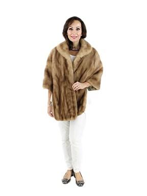 Woman's Vintage Pastel Mink Fur Stole
