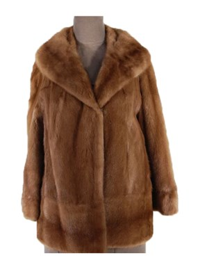 Autumn Haze Mink Jacket