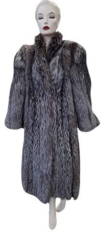 Natural Silver Fox Coat