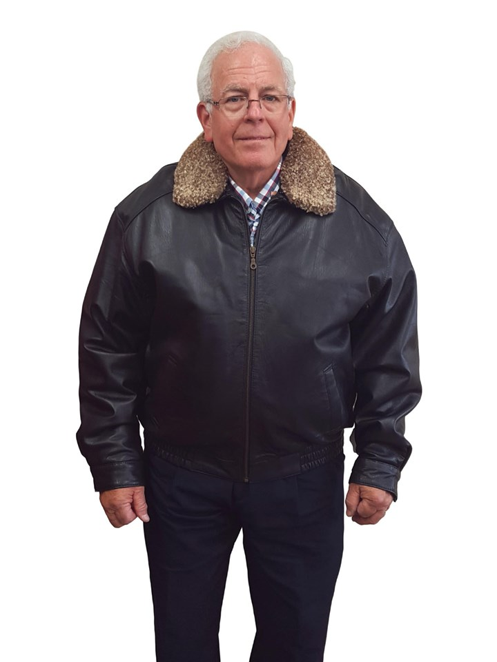 NEW Man's Cabretta Lamb Leather Zip Bomber With Thermolite Liner