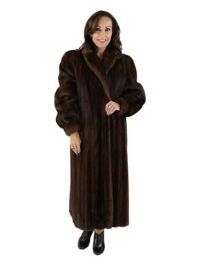Demi Buff Mink Coat