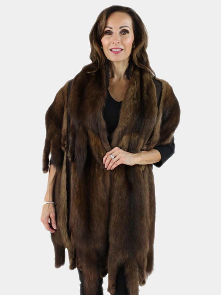 Woman's Straight Sable Fur Stole