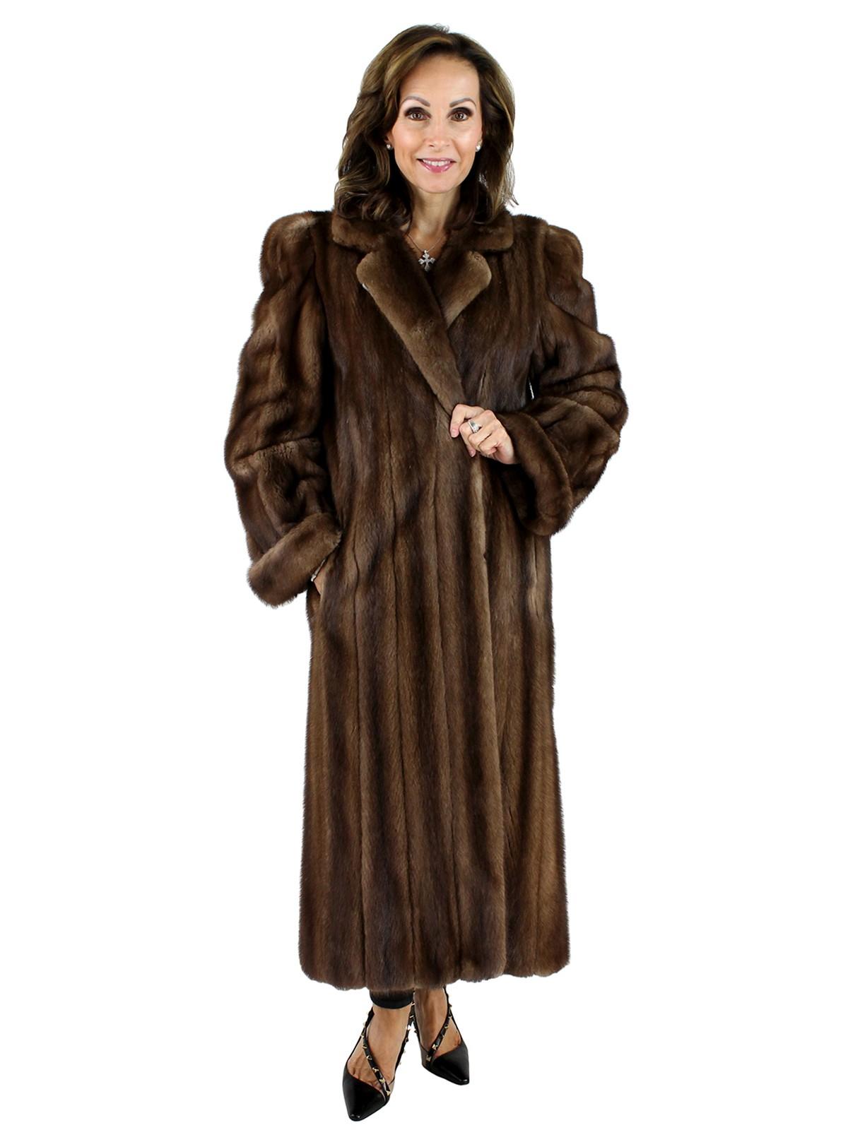 1117759d8 Lunaraine Mink Fur Coat - Women's Large (12) | Estate Furs