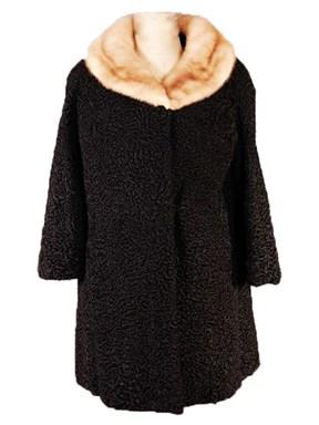 Black Persian Lamb Stroller