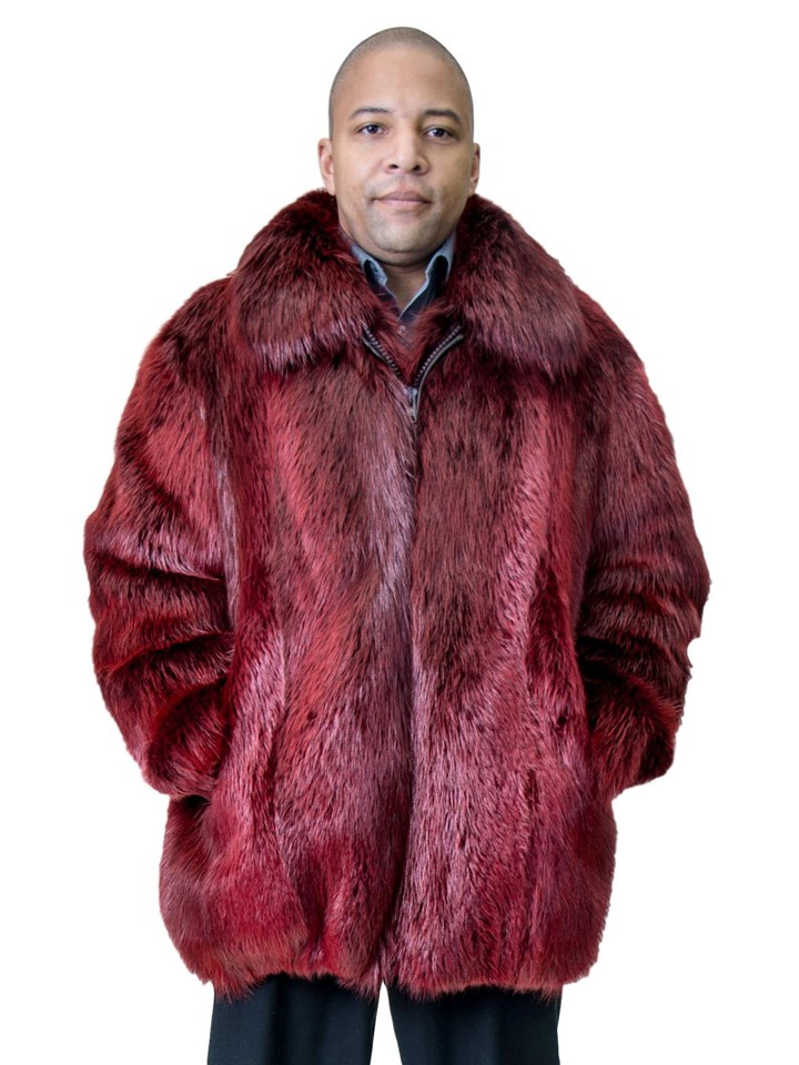 NEW Scarlet Red Beaver Jacket