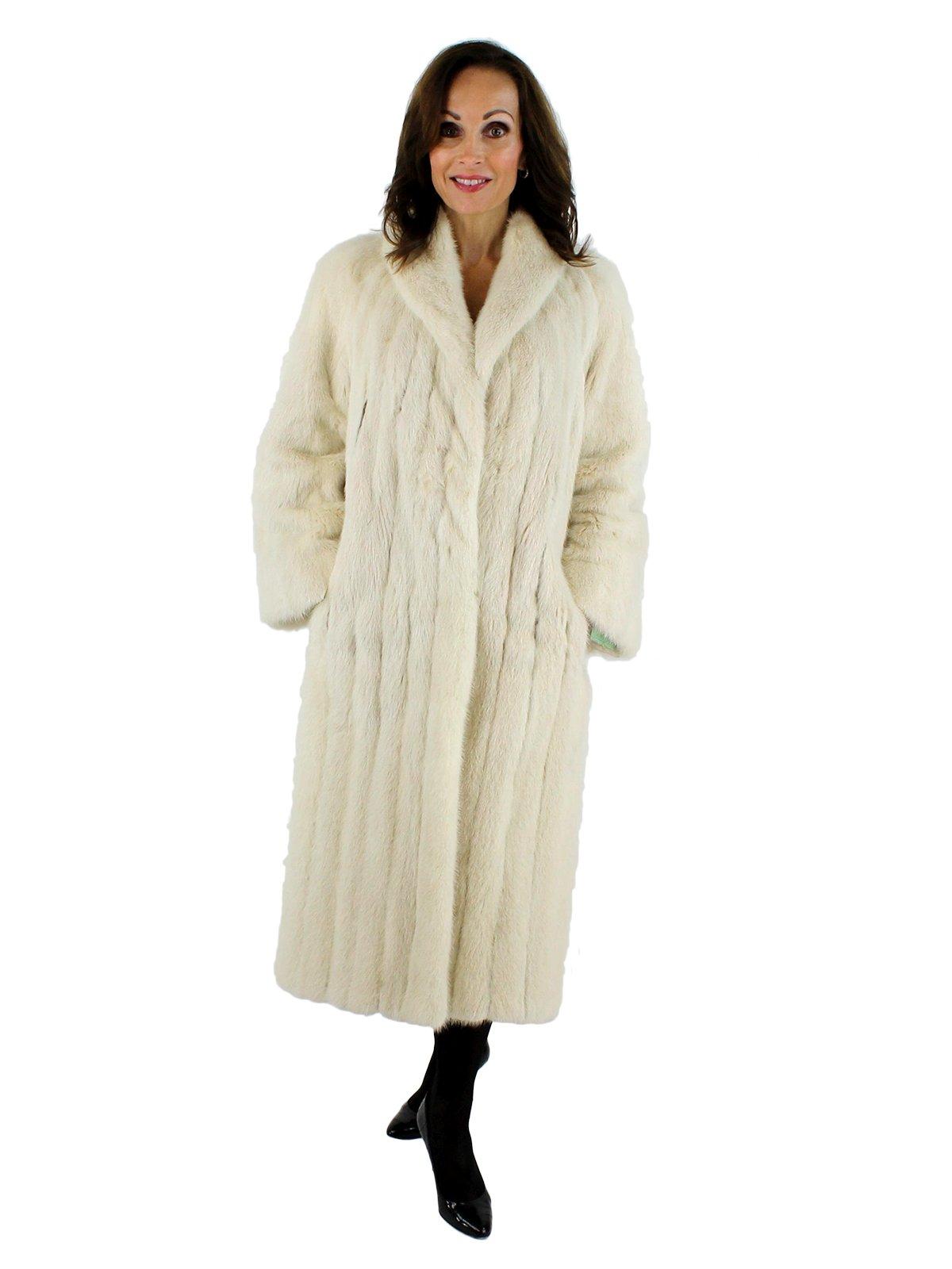 Mink Coat Value >> Tourmaline Mink Fur Coat Women S Small Estate Furs
