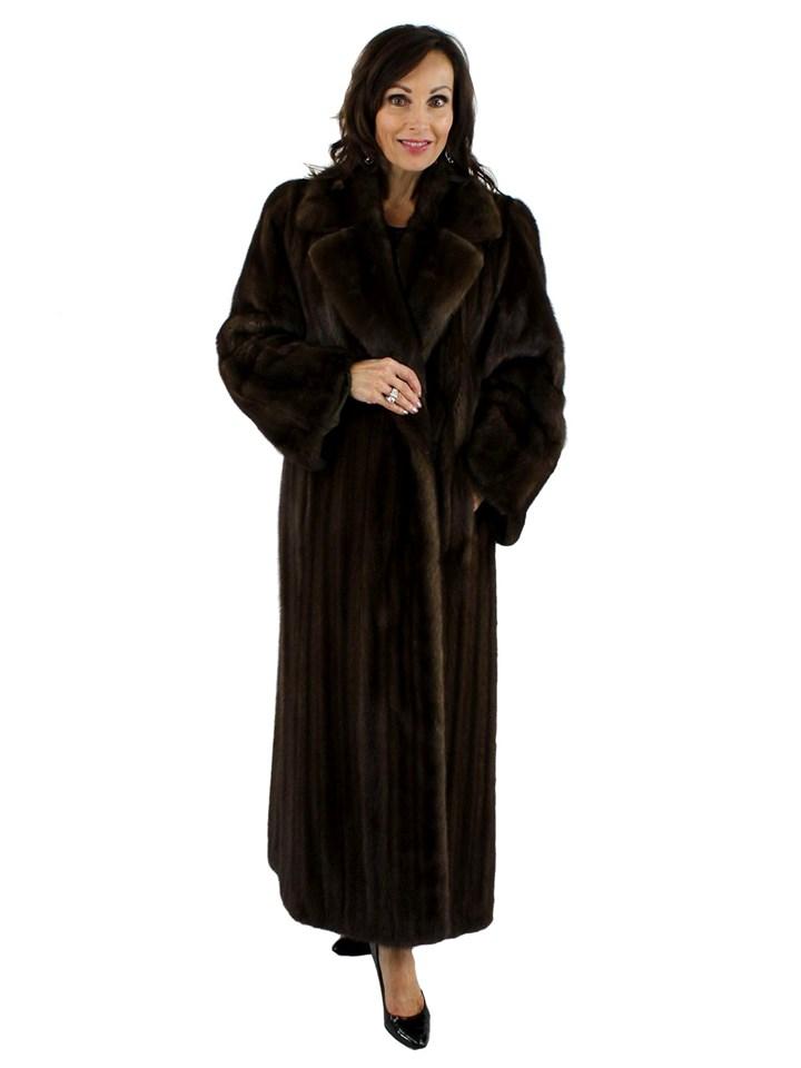 Light Mahogany Mink Coat