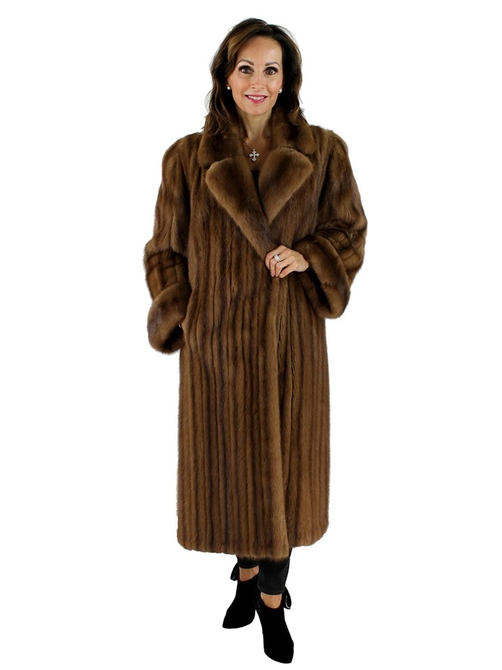 Woman's Demi Buff Female Mink Coat