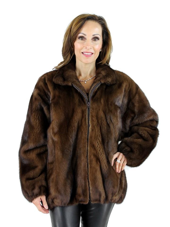 Woman's Lunaraine Mink Fur Jacket