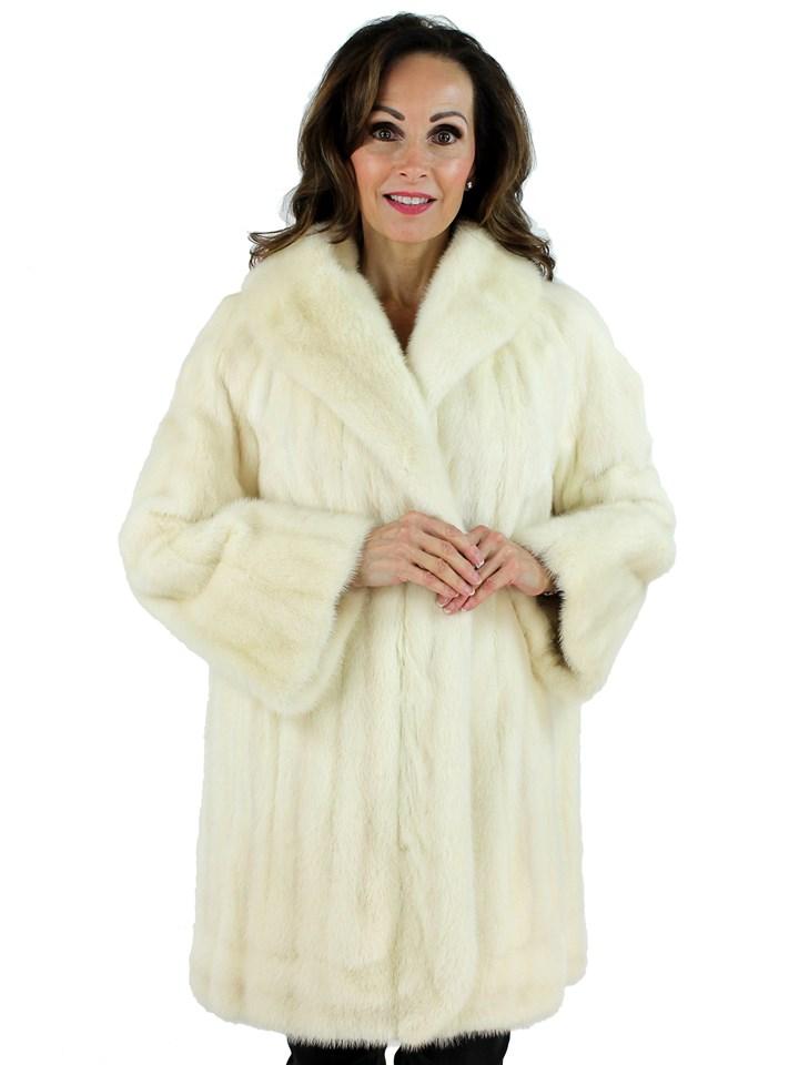 Woman's Tourmaline Female Mink Fur Stroller