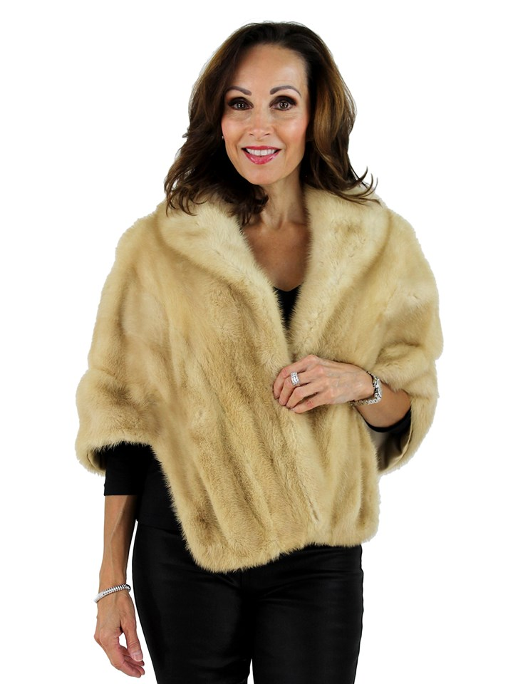 Woman's Breath of Spring Mink Fur Stole