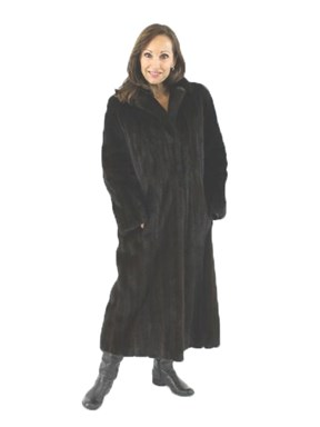 Petite Full Length Ranch Mink Coat