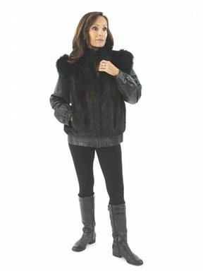 Mahogany Mink Jacket and Vest
