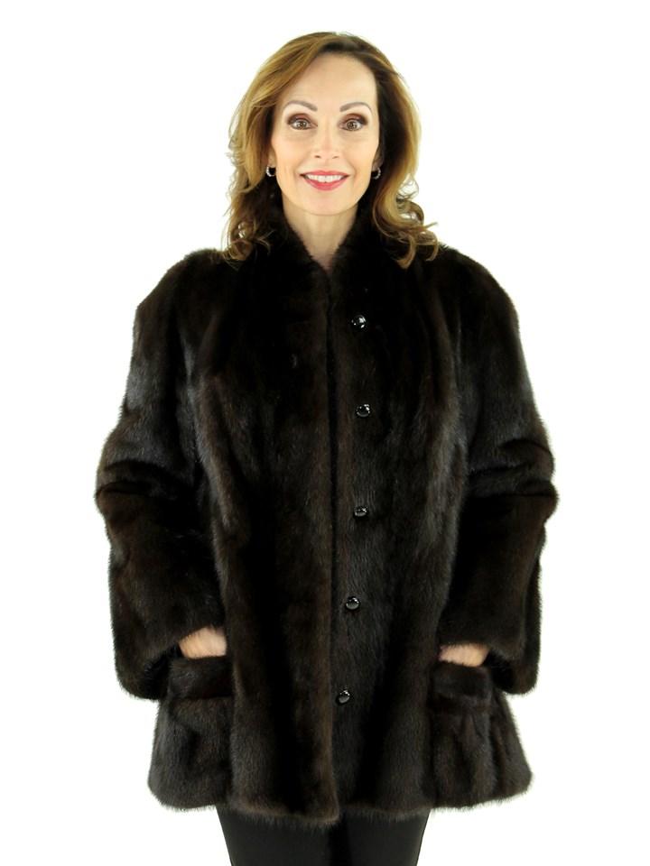 Woman's Ranch Mink Fur Jacket