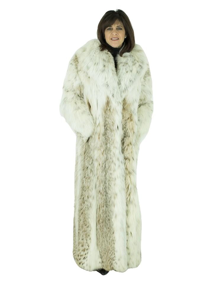 Woman's Russian Lynx Fur Coat