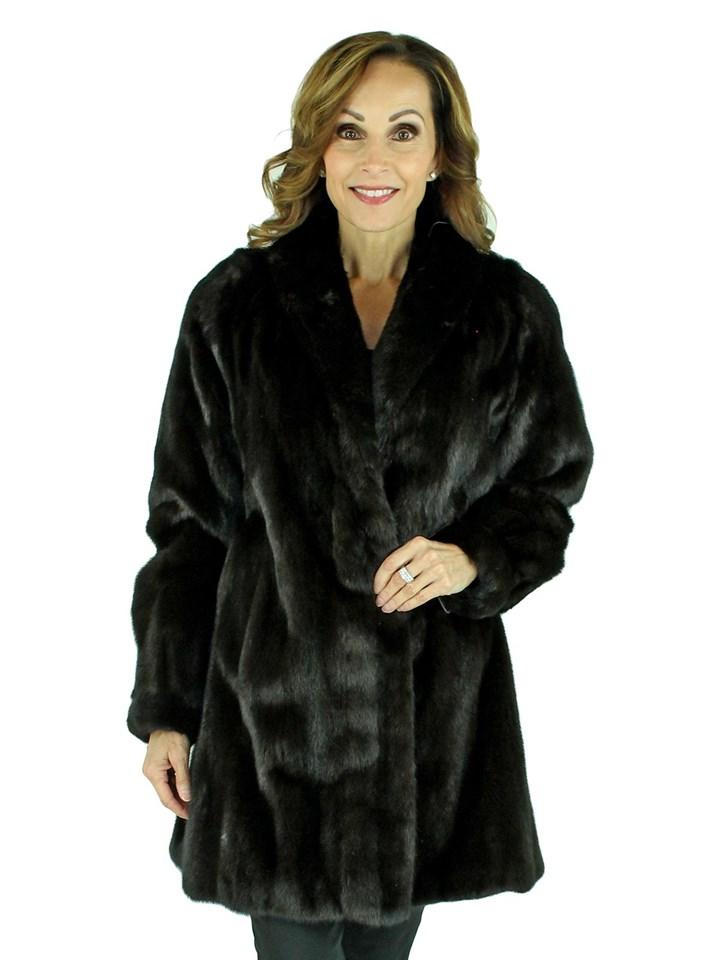 Woman's Female Ranch Mink Fur Stroller